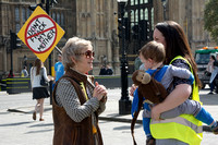 Mothers against Fracking Protest London UK