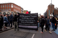 Mayday protest, London, UK