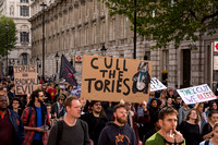 Anti Tory, Anti Austerity Protest, London, UK