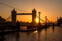 Sunrise at Tower Bridge, London, UK