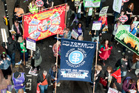Unions march in London against cuts
