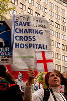 Save Our Hospitals Demonstration London UK