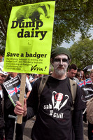 National march against the badger cull, London