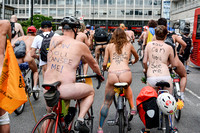 World Naked Bike Ride, London UK