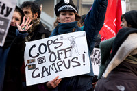 Cops Off Campus Student Demonstration, London UK