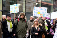 Protest outside ATOS HQ, London