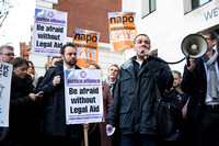 Legal Aid Barristers Demonstration