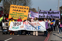1000 Mothers March for Justice, Tottenham, London, UK