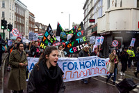Housing Protest, London, UK