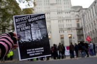 Boycott Workfare Noise Demonstration London UK